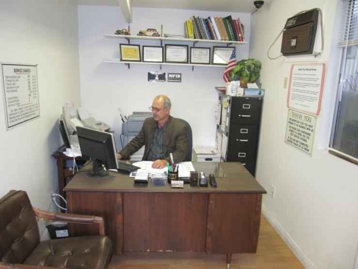 Dad Desk